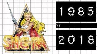 SHE-RA: 1985 vs 2018 #meteoro.doc