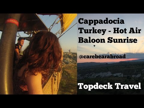 Cappadocia Turkey - Hot Air Baloon - Topdeck Travel- TripAdvisor #1