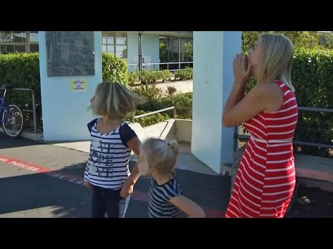 Military Dad Surprises Wife And Daughters With Homecoming - Emotional Surprise 2016
