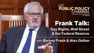 Frank Talk: Gay Rights, Wall Street and the Federal Reserve with Barney Frank and Alex Gelber
