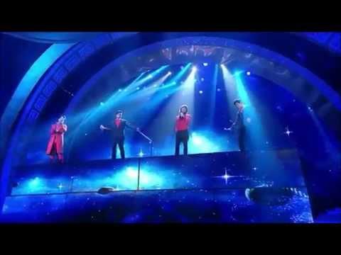 20130210 F4's reunion perf at Jiang Su TV Gala Night (English subbed)