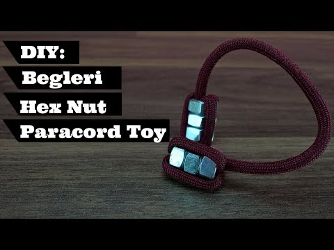 How to Make a Begleri With Hex Nuts DIY | DIY Fidget Toy Begleri