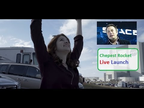 Live Spacex Rocket Launch ! eon musk