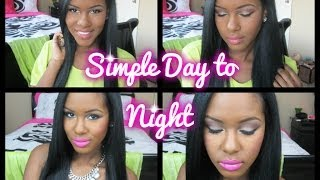 simple day to night makeup feat bh cosmetics 28 neutral palette
