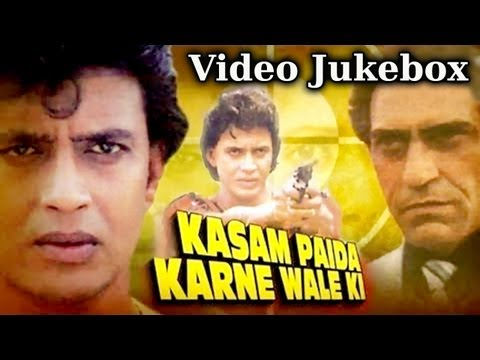 Kasam Paida Karne Wale (HD) -Songs Collection - Mithun Chakraborty - Bappi Lahiri - Best Hindi Songs