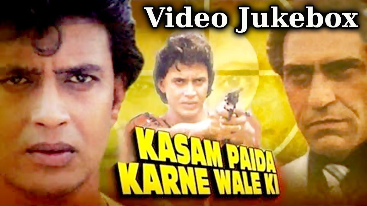 Download Kasam Paida Karne Wale (HD) -Songs Collection - Mithun Chakraborty - Bappi Lahiri - Best Hindi Songs