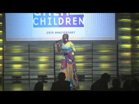 Janice Freeman's performance of Lean on Me at A Place Called Home's Gala for the Children 2018
