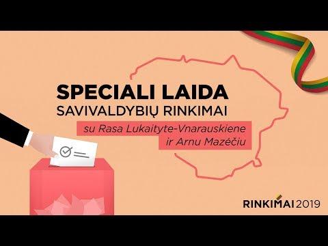 Speciali savivaldybių rinkimams skirta DELFI TV laida