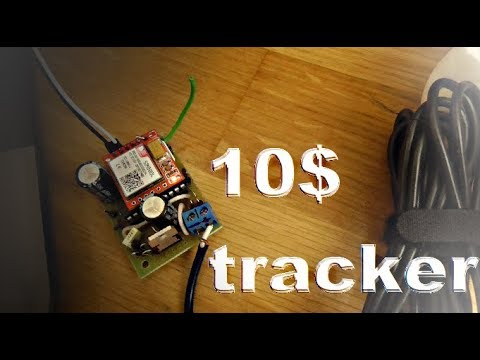 Make your own cheap DIY GSM GPS bike car tracker / GPS car locator for only  10 USD !
