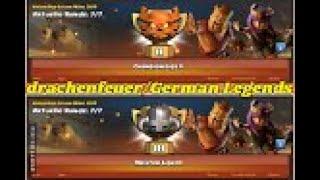 🌟C W L🌟 // drachenfeuer ( C2 ) + German Legends ( M3) // CLASH OF CLANS // COC // DEUTSCH /GERMAN