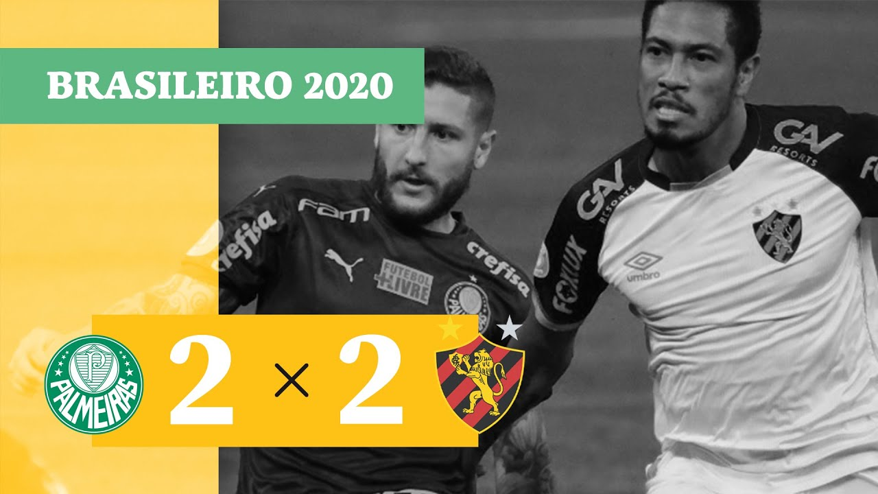 Палмейрас  2-2  Спорт Ресифи видео