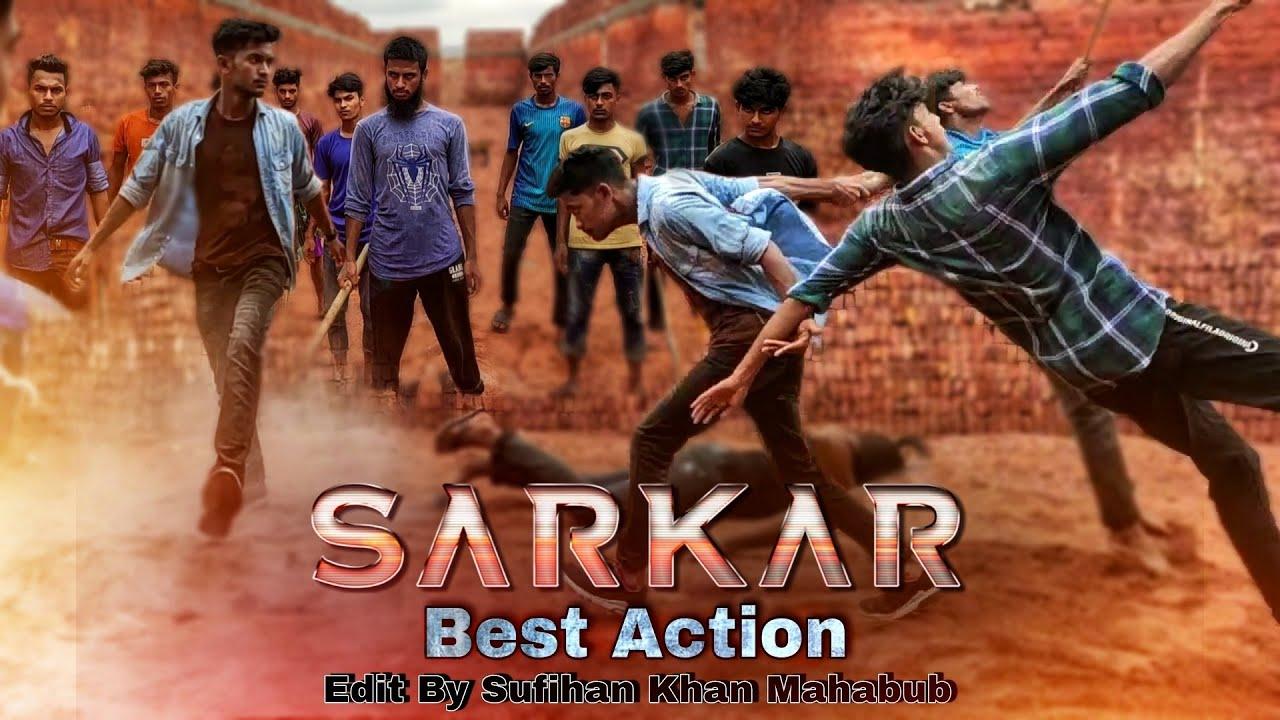 Download Sarker movie fight spoof   Thalapathy Vijay Saves her children   Vijay, Keerthy Suresh #FF_Friends