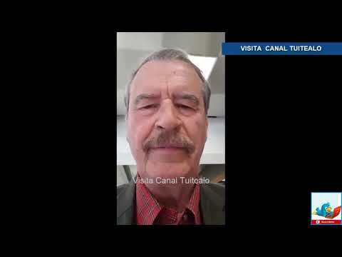 Vicente Fox pide a mexicanos en EU no votar por López Obrador Video