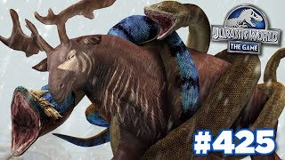 Giant Snakes Attack!! || Jurassic World - The Game - Ep425 HD