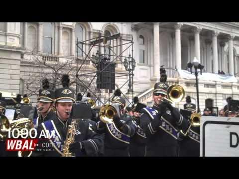 Baltimore Marching Ravens at Parade