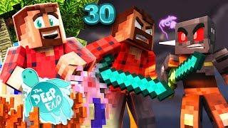 """ABBA CAVING VS. GRASER"" | The Deep End Minecraft SMP #30"