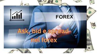 Forex trading: Ask, Bid e Spread. Cosa sono?