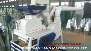 MLNJ2015 1000kg per hour combined rice mill