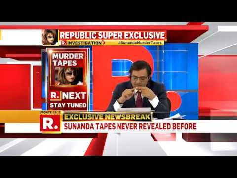 Arnab takes on Shashi Tharoor