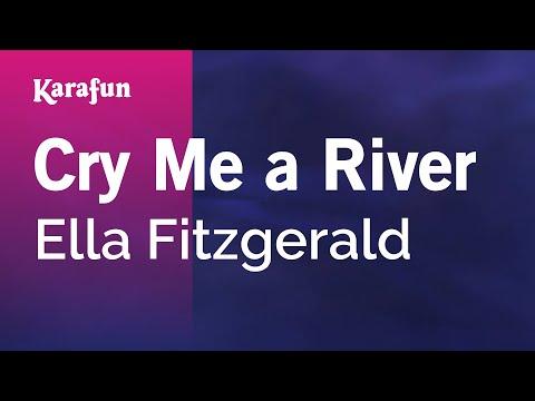 Karaoke Cry Me A River  Ella Fitzgerald *