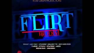 Nico Muss Rich - Party Hard (Flirt Riddim) - Rose Green Riddim - June 2012