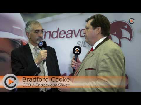 Endeavour SIlver CEO at the VRIC in Vancouver - January 2017