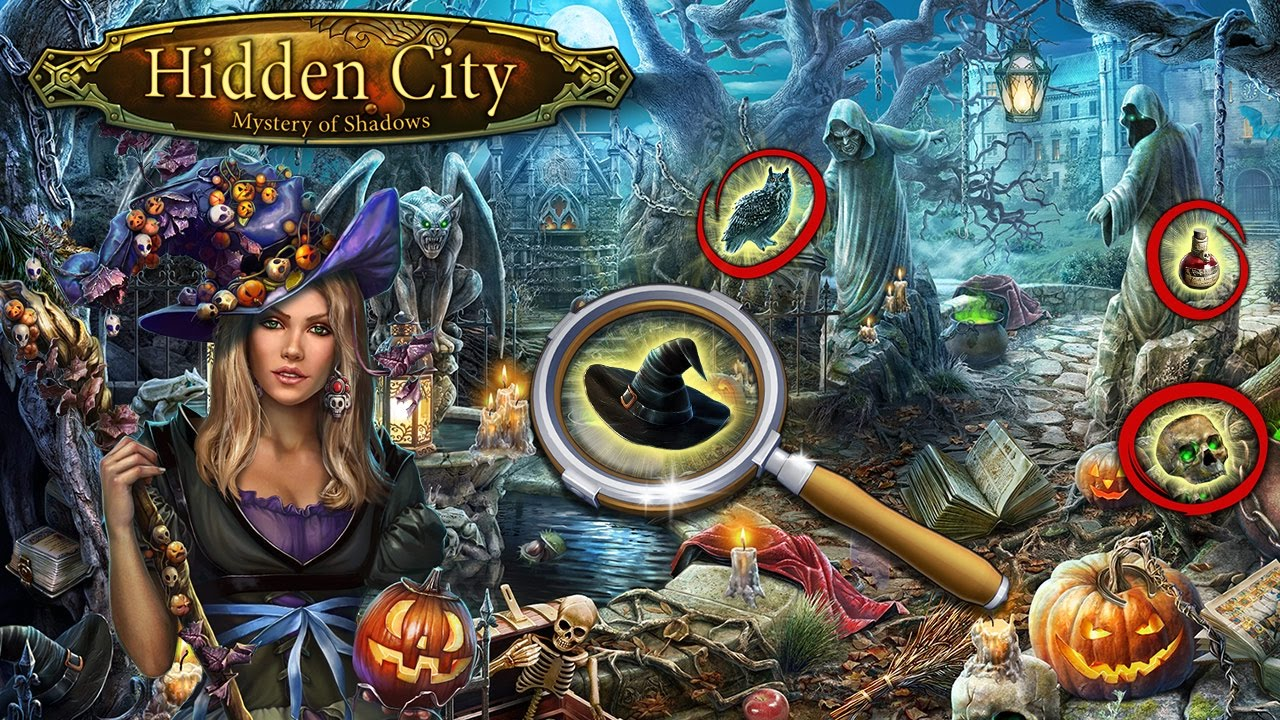 <b>Hidden City</b>®: Mystery of Shadows, October 2016 - YouTube