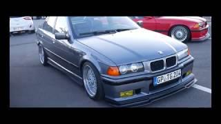 BMW E36 crew ride out Movie Tuning meet M50 325i M52 328i 320i