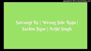 Download Hindi Video Songs - Satrangi Re | Wrong Side Raju | Sachin Jigar | Arijit Singh | Female Cover By Shraddha