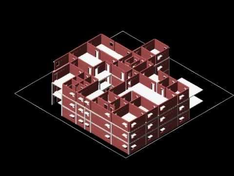 Building Quantity Estimator from 3D AutoCAD For irregular shape plan