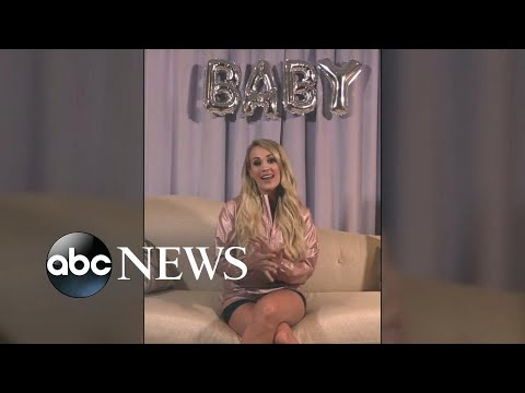 carrie-underwood-announces-shes-pregnant-with-second-baby