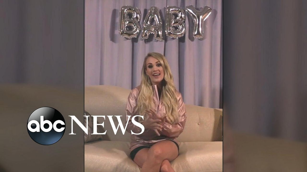 Carrie Underwood announces she's pregnant with second baby