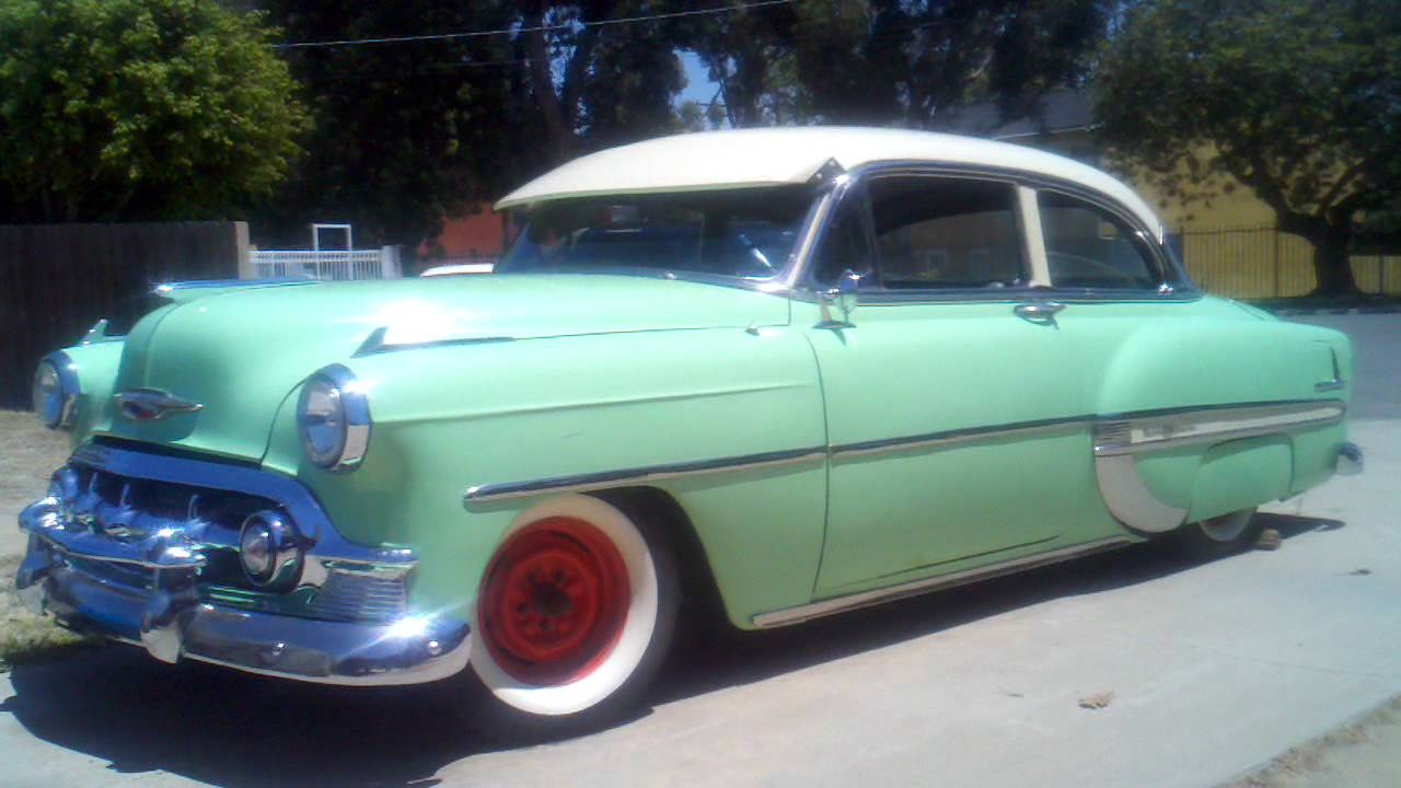 1953 chevy belair - YouTube