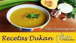 Sopa Quema Grasa, Dieta Dukan (Crucero PV)  Dukan Diet Slimming Soup (PV)