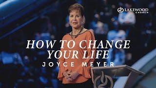 Joyce Meyer | H๐w To Change Your Life | July 6, 2021