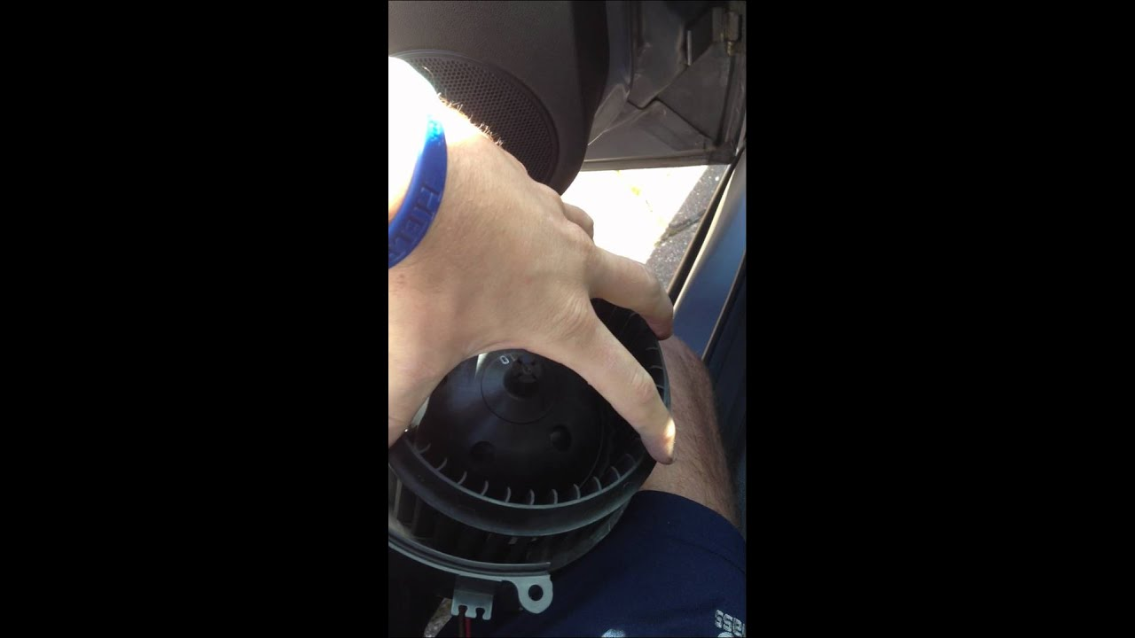 Vauxhall Opel Astra H Fan Blower Replacement Youtube