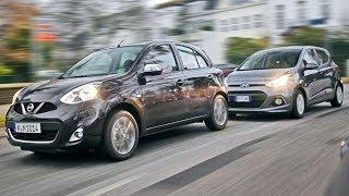 Hyundai i10 vs. Nissan Micra
