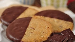 Pecan Shortbread Cookies Recipe Demo - Joyofbaking.com