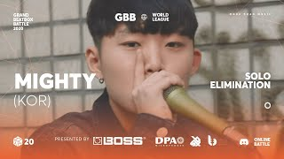 Mighty | Grand Beatbox Battle Online 2020 | Solo Elimination #10