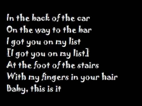 My first kiss - 3OH!3 feat. Ke$ha (with lyrics on screen)