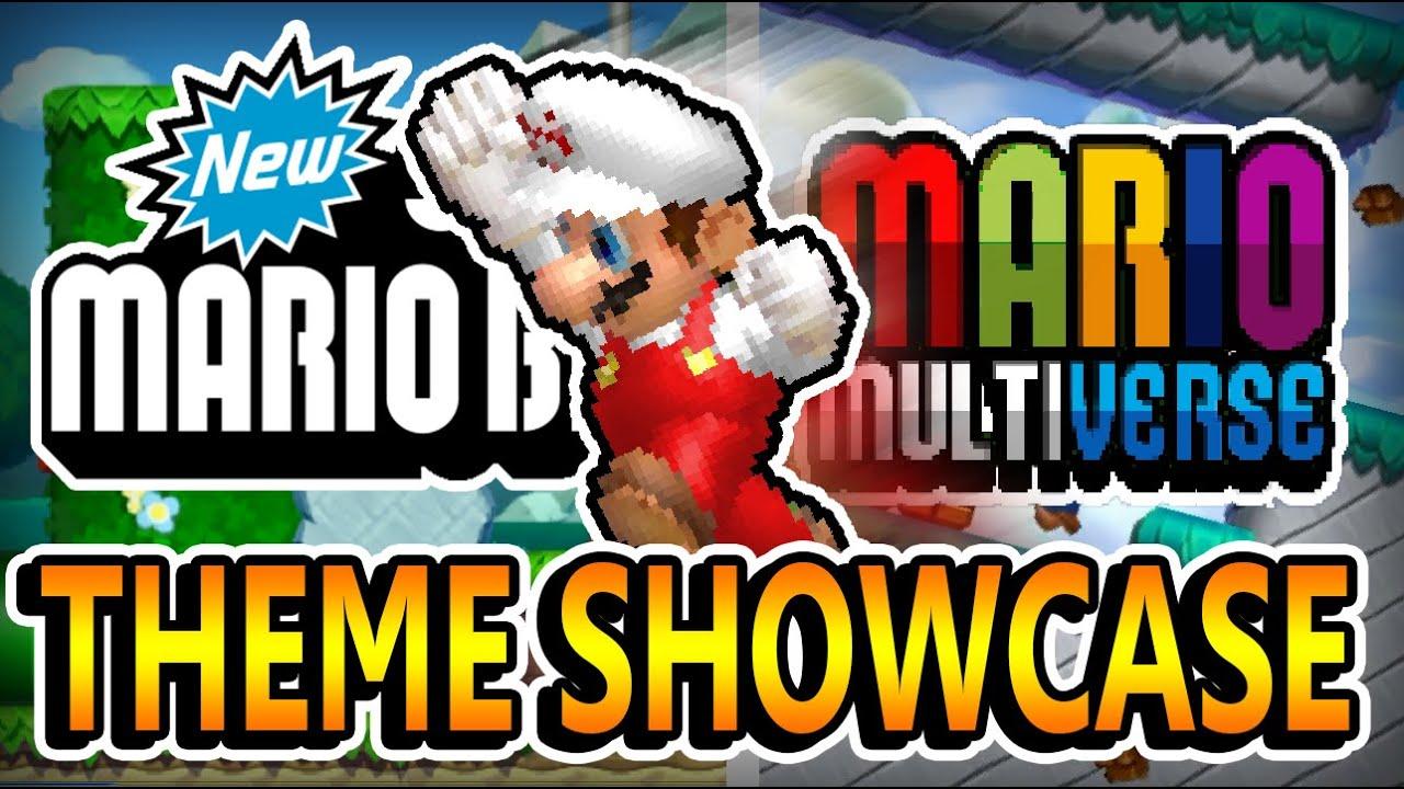 NEW SUPER MARIO BROS. U [THEME SHOWCASE]   MARIO MULTIVERSE [7.6] (CLOSED BETA GAME)
