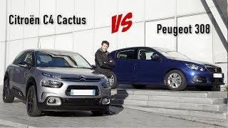 Nouveau Citroën C4 Cactus vs Peugeot 308 : premier match statique