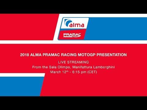 2018 Alma PramacRacing MotoGP presentation - Watch the Live Streaming (ENG) - YouTube