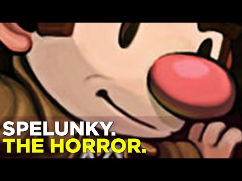Simone and Russ take on SPELUNKY