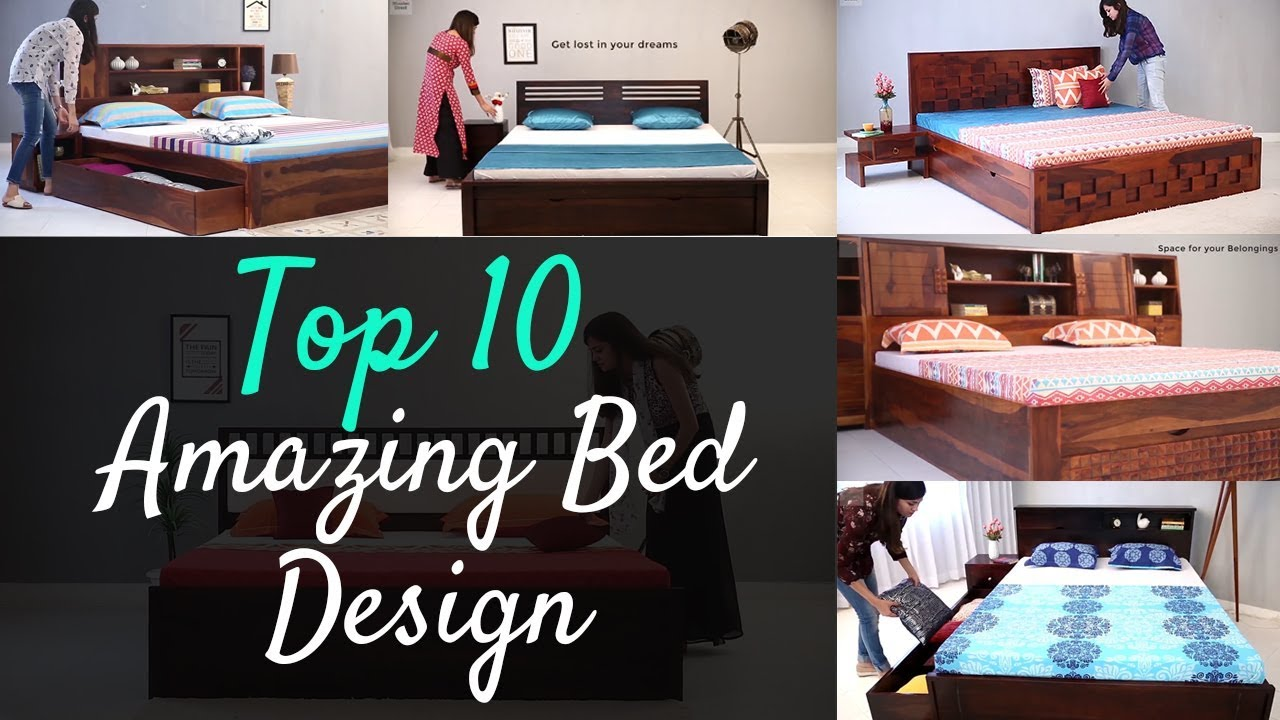Bed Design Top 10 Wooden Double Bed Design Latest 10 Bed Design Best 10 Bed Design Youtube