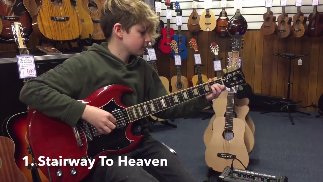 10 Most Overplayed Riffs at Guitar Stores
