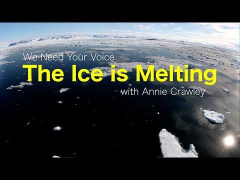 Rapidly Melting Ice