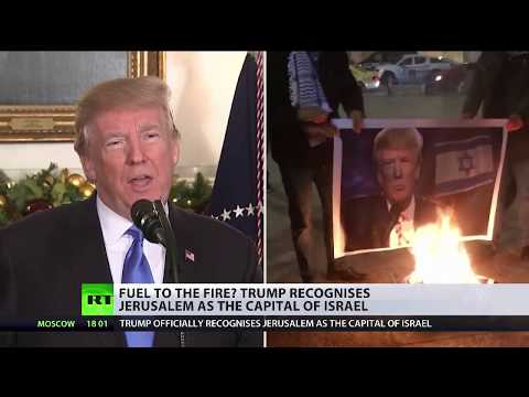 Palestinians and world leaders react to Trump's announcement