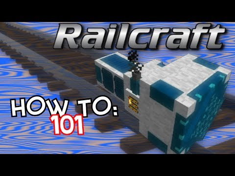 How To: Railcraft 101 - YouTube
