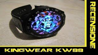 KINGWEAR KW88-Recensione in italiano del Miglior smartwatch ANDROID 3G!!! ULTIMO AGGIORNAMENTO!!!